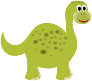 Dinosaur image - can paint for banner and use stick on googly eyes