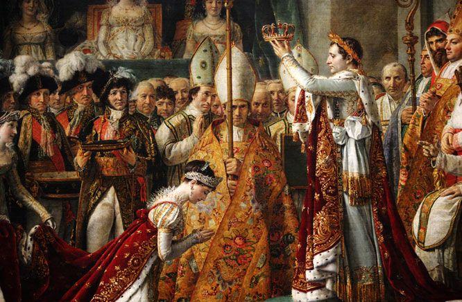Napoléon I couronnement | Le sacre de napoléon, Peintre david, Musée du  louvre