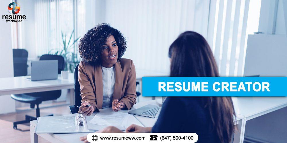Resume Creator in 2020 Resume creator, Best resume, Resume