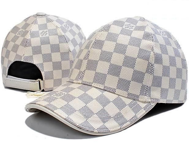 ca2f1f05 Louis Vuitton Leather Damier Baseball Cap | Caps in 2019 | Louis ...