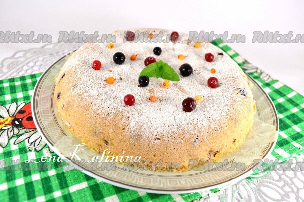 Пирог с запеченным шокодадом