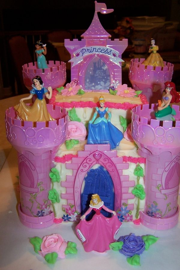 Walmart Birthday Cakes Disney Princess Castle Cake