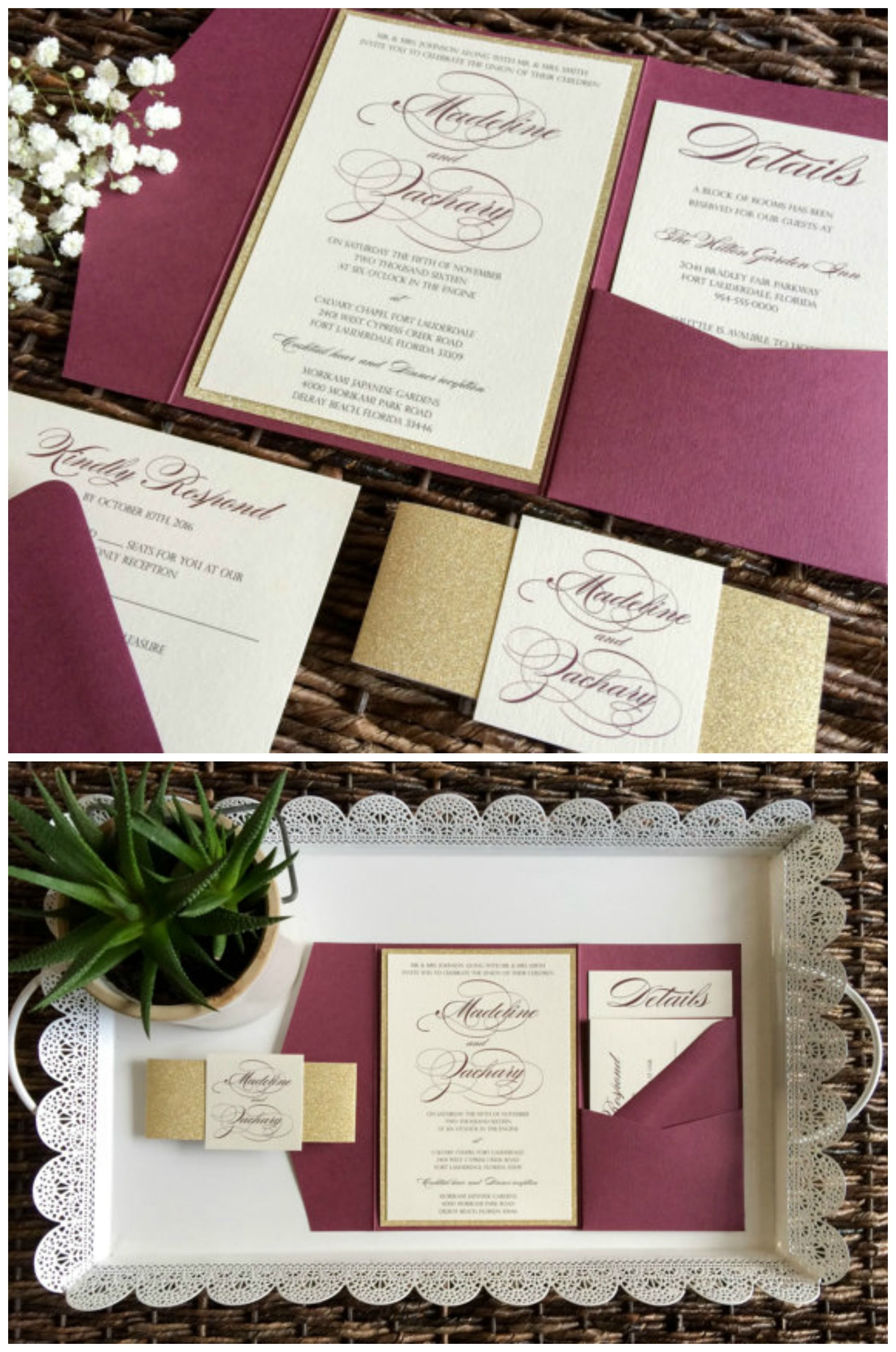 pictures 25 Gorgeous Letterpress Wedding Invites That'll Impress YourGuests