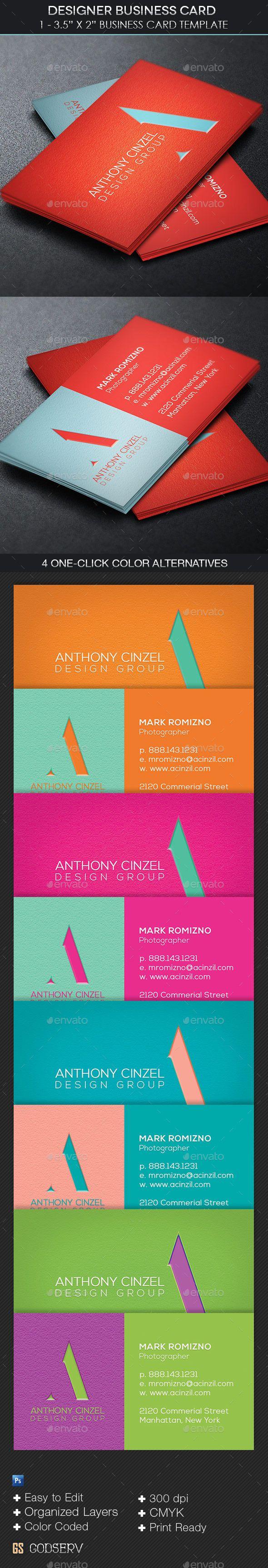 designer business card template