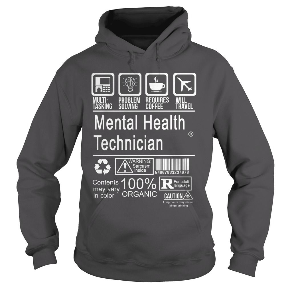 New Tshirt Design Mental Health Technician Certified Job Title