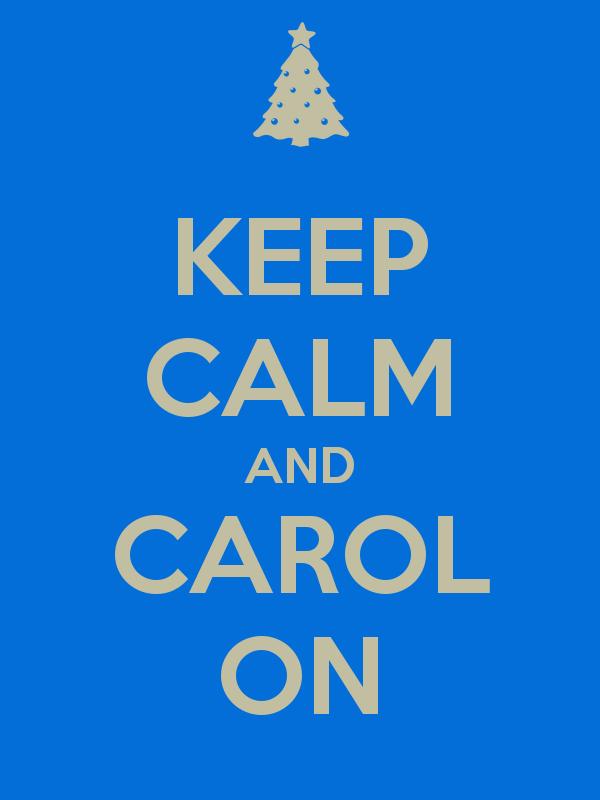 Carols! Yes, we like it!