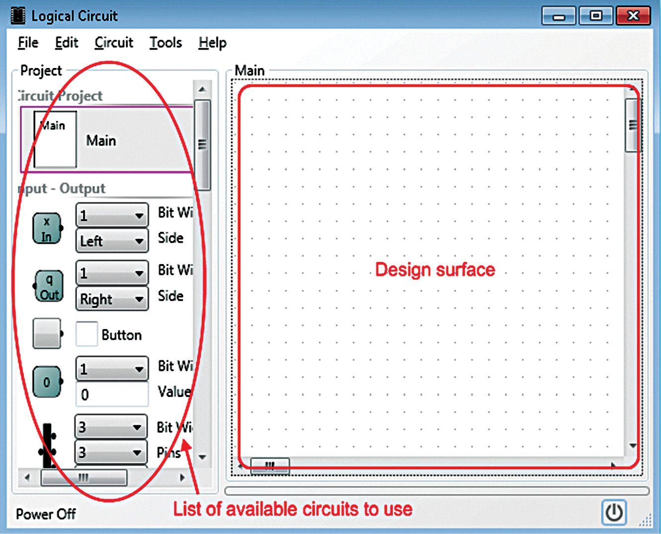 Logiccircuit Building Digital Circuits Made Easy Software Review Digital Circuit Circuit Gate Design