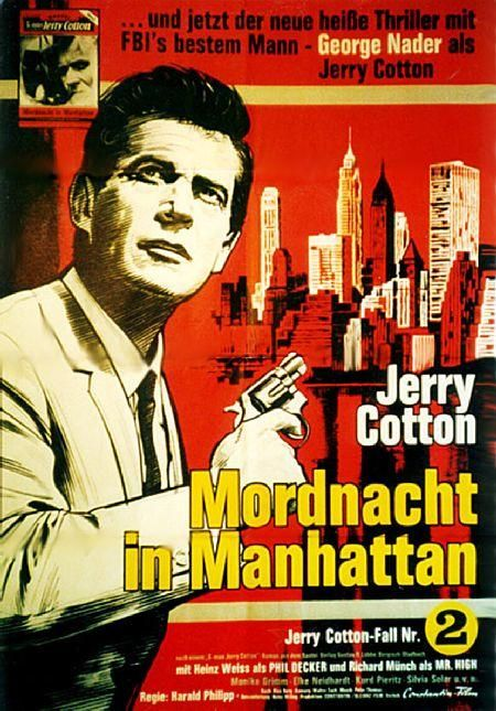 Jerry Cotton - Mordnacht in Mannhattan, D 1965 Regie: Harald Phillipp