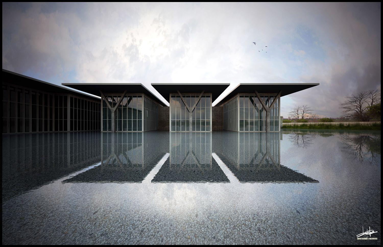 Tadao Ando Modern Art Museum Fort Worth T
