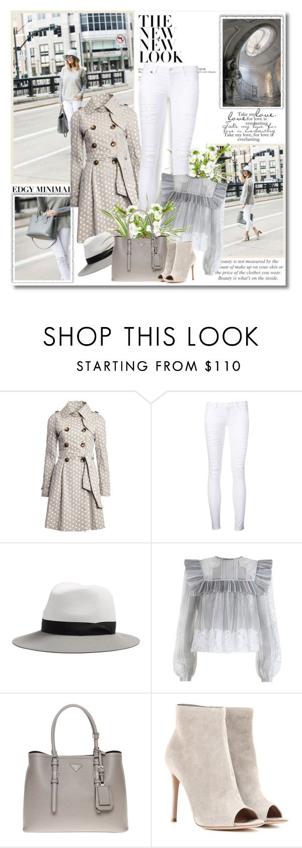 """Success is nothing more than a few simple disciplines, practiced every day!!"" by lilly-2711 ❤ liked on Polyvore featuring KLING, Frame Denim, rag & bone, Zimmermann, Prada and Gianvito Rossi"
