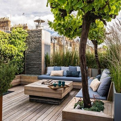 The Best of The List Gardens is part of Rooftop terrace design, Rooftop design, Roof terrace design, Terrace design, Small garden design, Rooftop garden - Looking for a garden or landscape designer  Browse the best projects from members of The List for a little inspiration