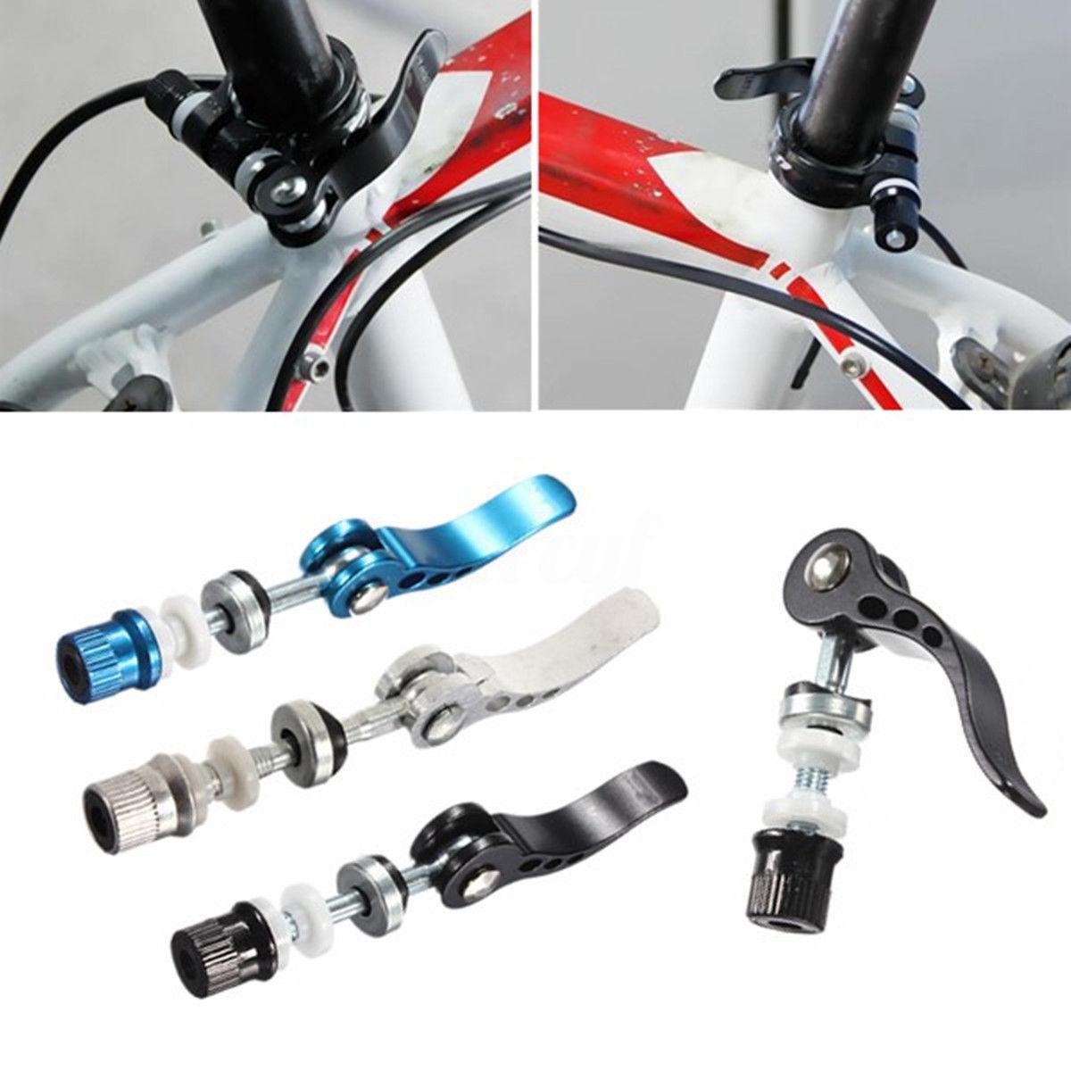 Release Bike Seat Clamp Accessories Mountain Bike Skewer Bolt Seat Tube Clamp