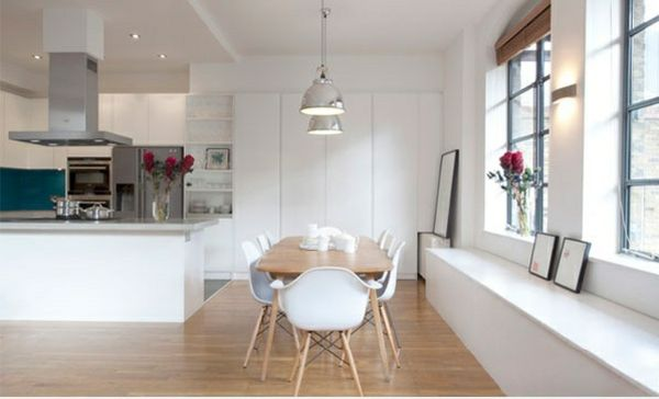 skandinavisches design esszimmer reizende ideen holztisch, Esszimmer