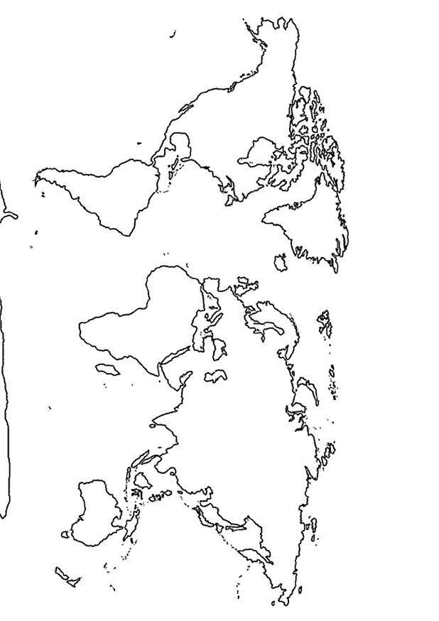coloriage carte mappemonde 148 23 coloriage en ligne