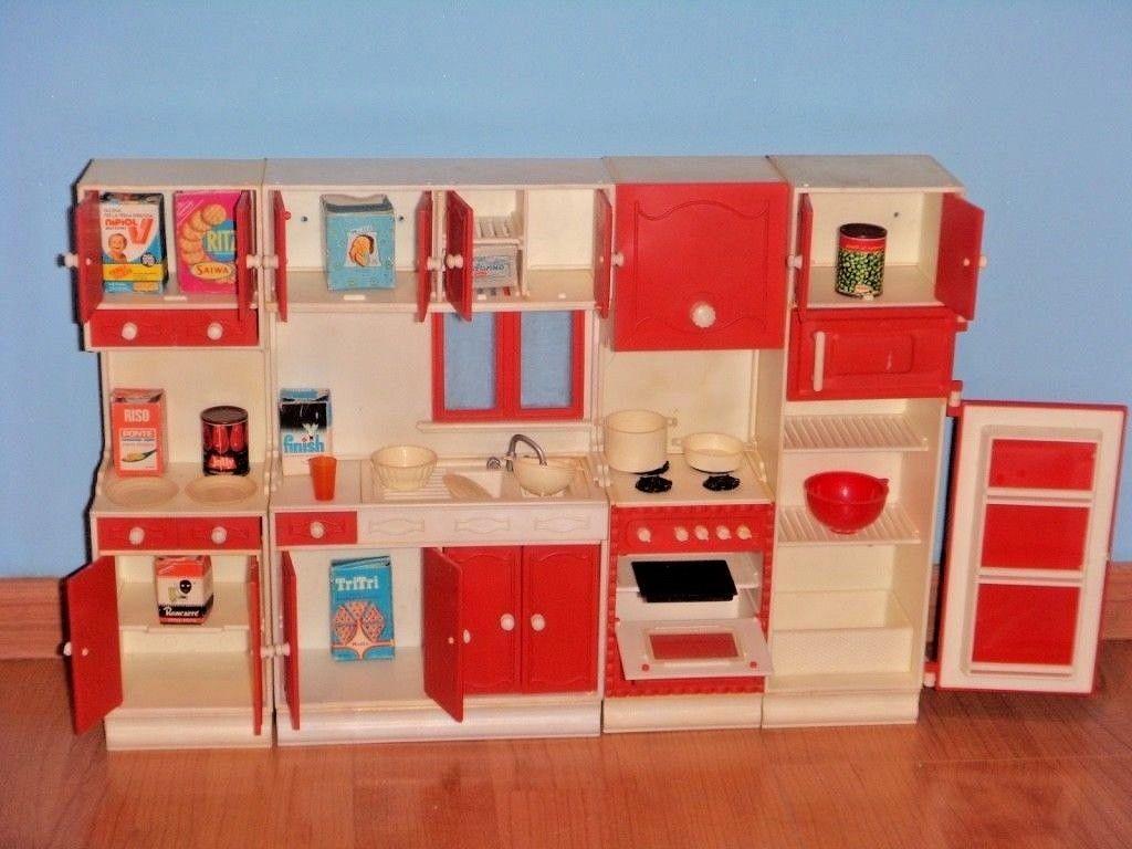Mobili Barbie ~ Barbie vintage anni mobili cucina giocattoli dolls