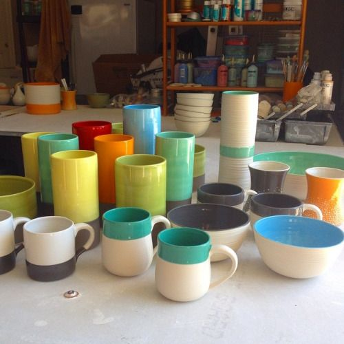From the latest firing. #pottery #ceramics #porcelain  (at Sarasota Bay)