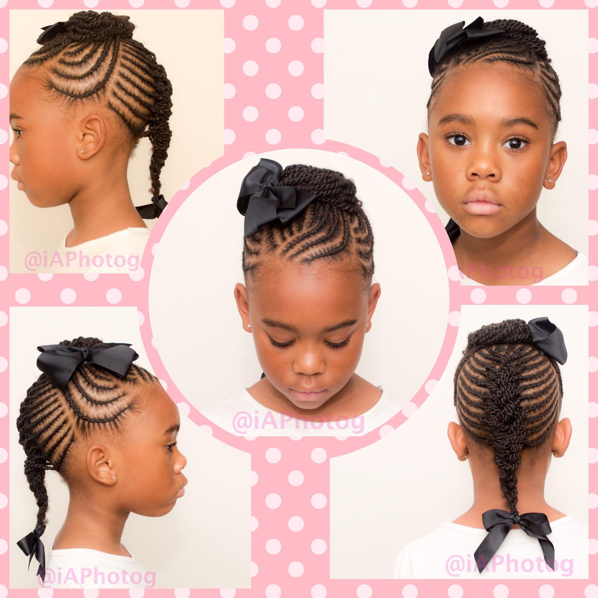 Cute braid hairstyle for kids ~TnC~ #naturalhair ...