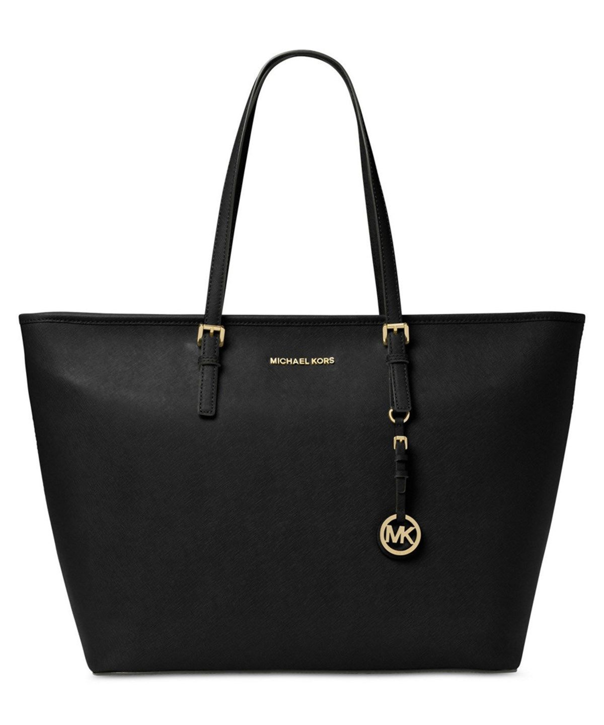 MICHAEL MICHAEL KORS MICHAEL MICHAEL KORS JET SET TRAVEL EXTRA LARGE MULTIFUNCTION TOTE'. #michaelmichaelkors #bags #hand bags #polyester #tote #lining #