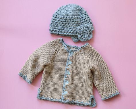 Kostenlose Anleitung: Babyjacke & -mütze - Initiative Handarbeit ...