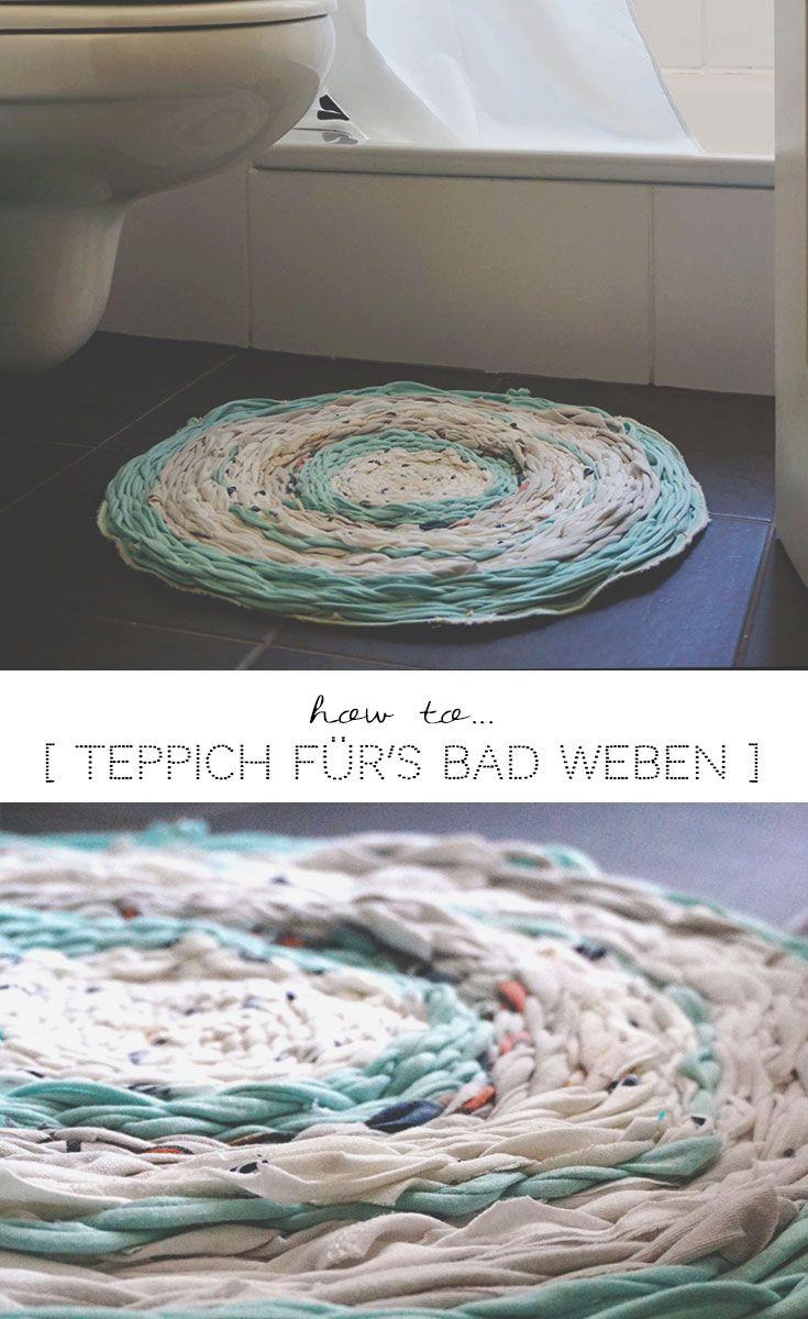 DIY Teppich Für´s Badezimmer Selbermachen