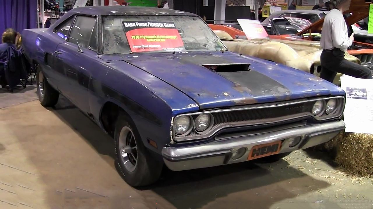 Barn Find 1970 Plymouth Road Runner 426 Hemi  The First Road
