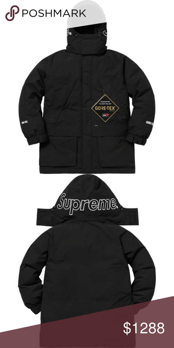 bf696075b1ca Supreme Gore Tex 700 Down Fill Parka NWT Sorry no trades Supreme Jackets    Coats