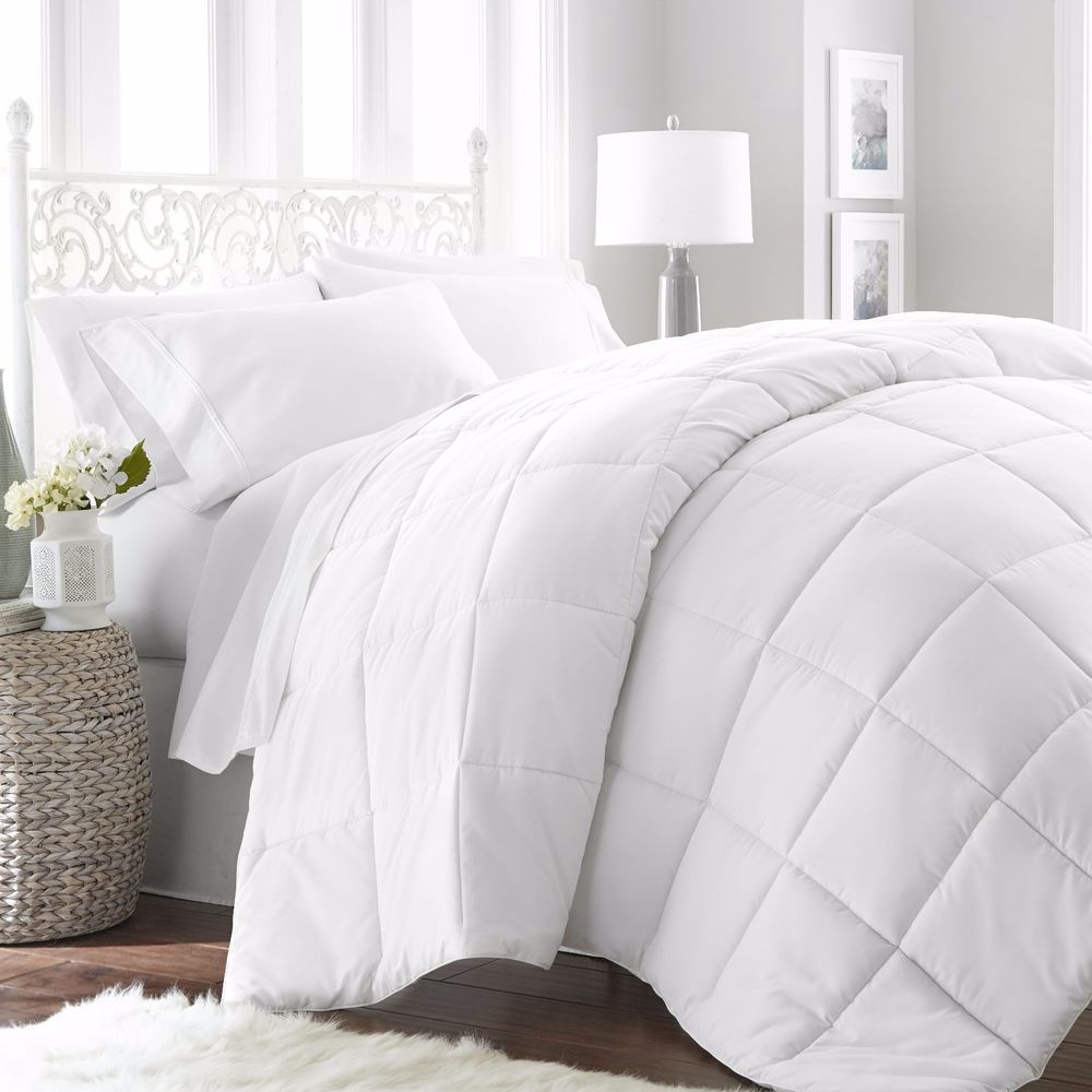 Details About Ultra Soft Lightweight Down Alternative Comforter Six Beautiful Colors Comforters Home Collections Bedding Deals