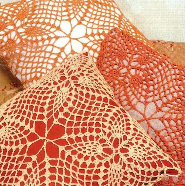 Crochet Art: Crochet Lace Pillow Cover - Free Crochet Pattern ...