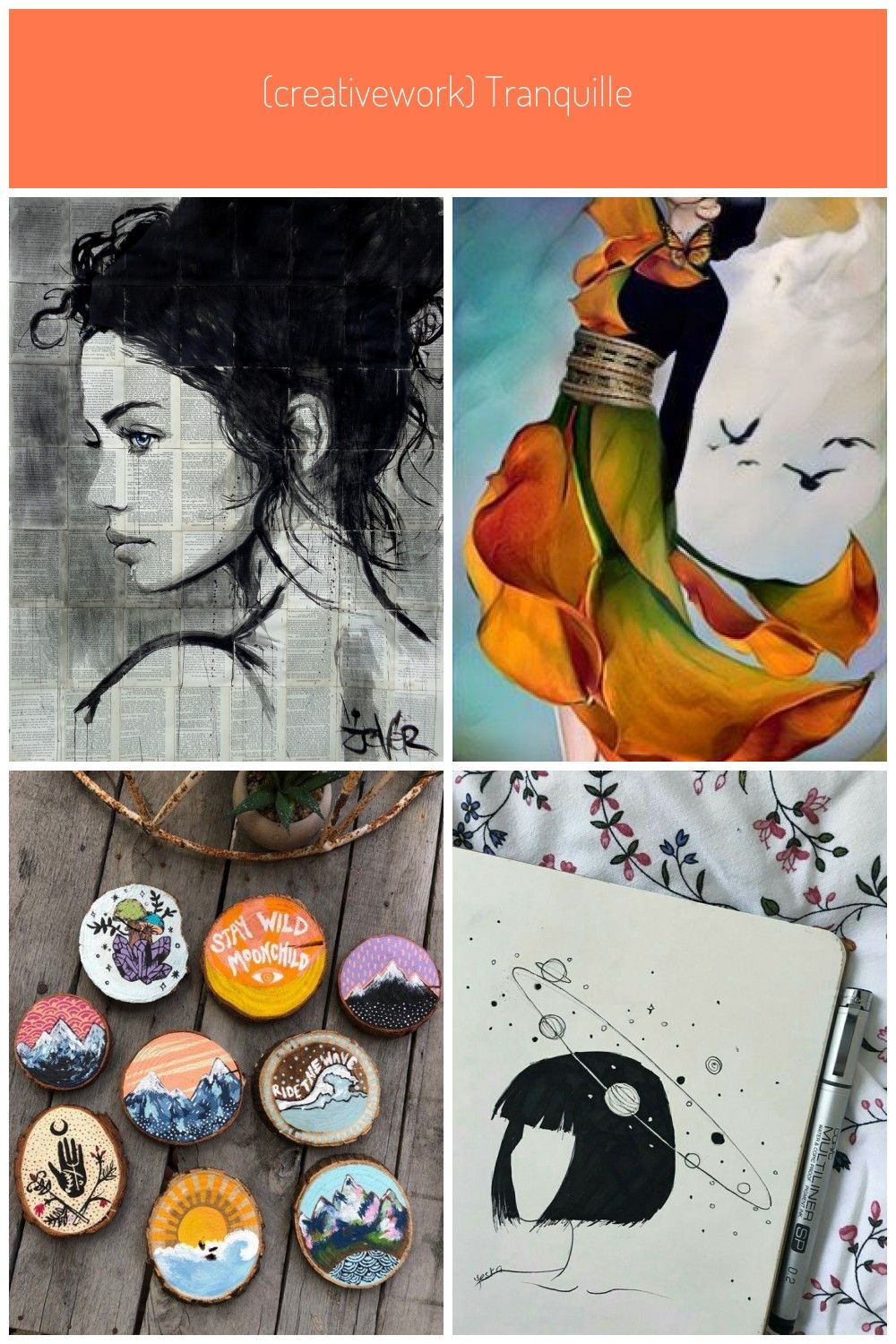 Bilder Collage Online : bilder, collage, online, CreativeWork), TRANQUILLE, Jover., Drawing., Online, Bluethumb., #kunst, Bilder, Jover, Drawings,, Jover,, Small, Paintings