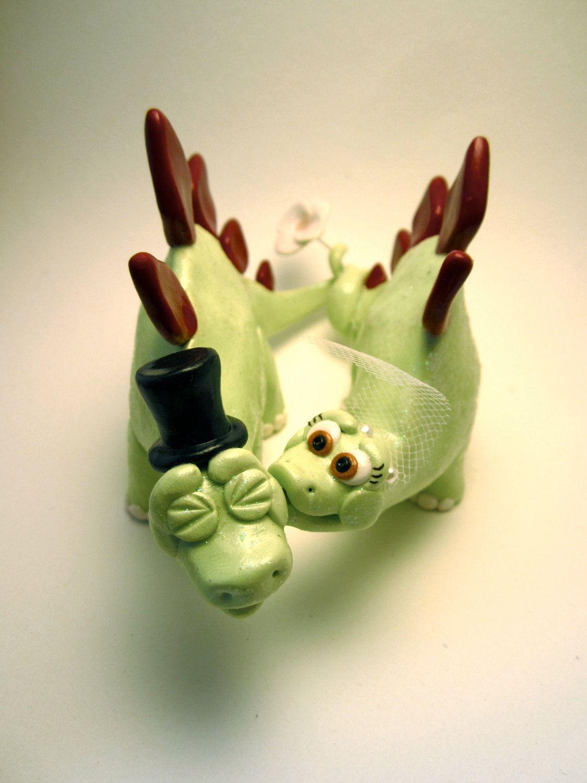 Stegosaurus Dinosaur Bride and Groom - Custom Animal Wedding Cake ...