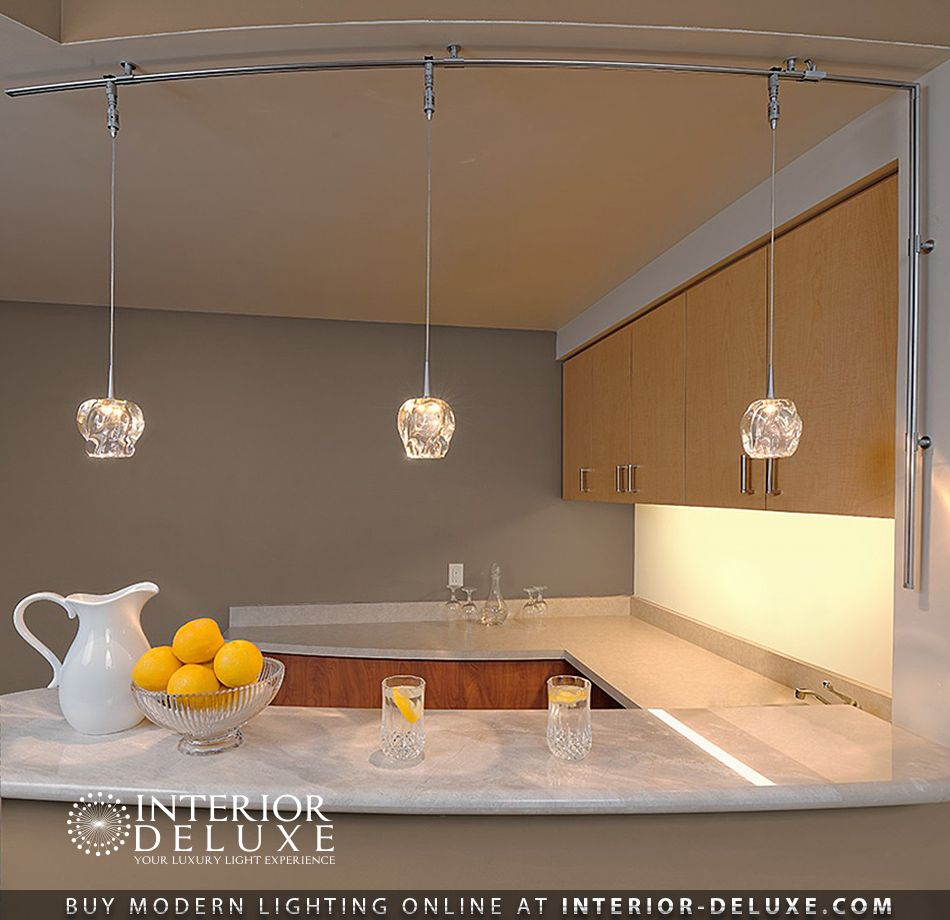 Clear Aurora Pendant By Bruck Lighting Hand N In The Usa