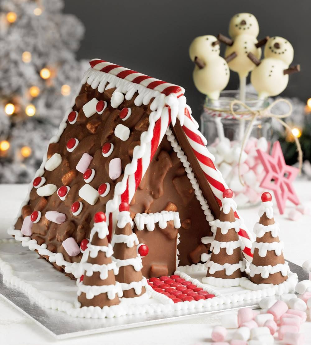 Make Your Own Rocky Road House Kit 163 3 Asda Christmas