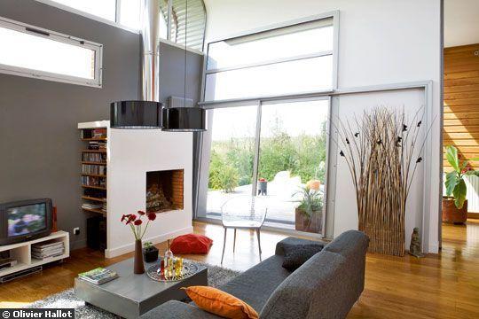 Déco salon moderne : 30 photos d\'inspiration | TVs