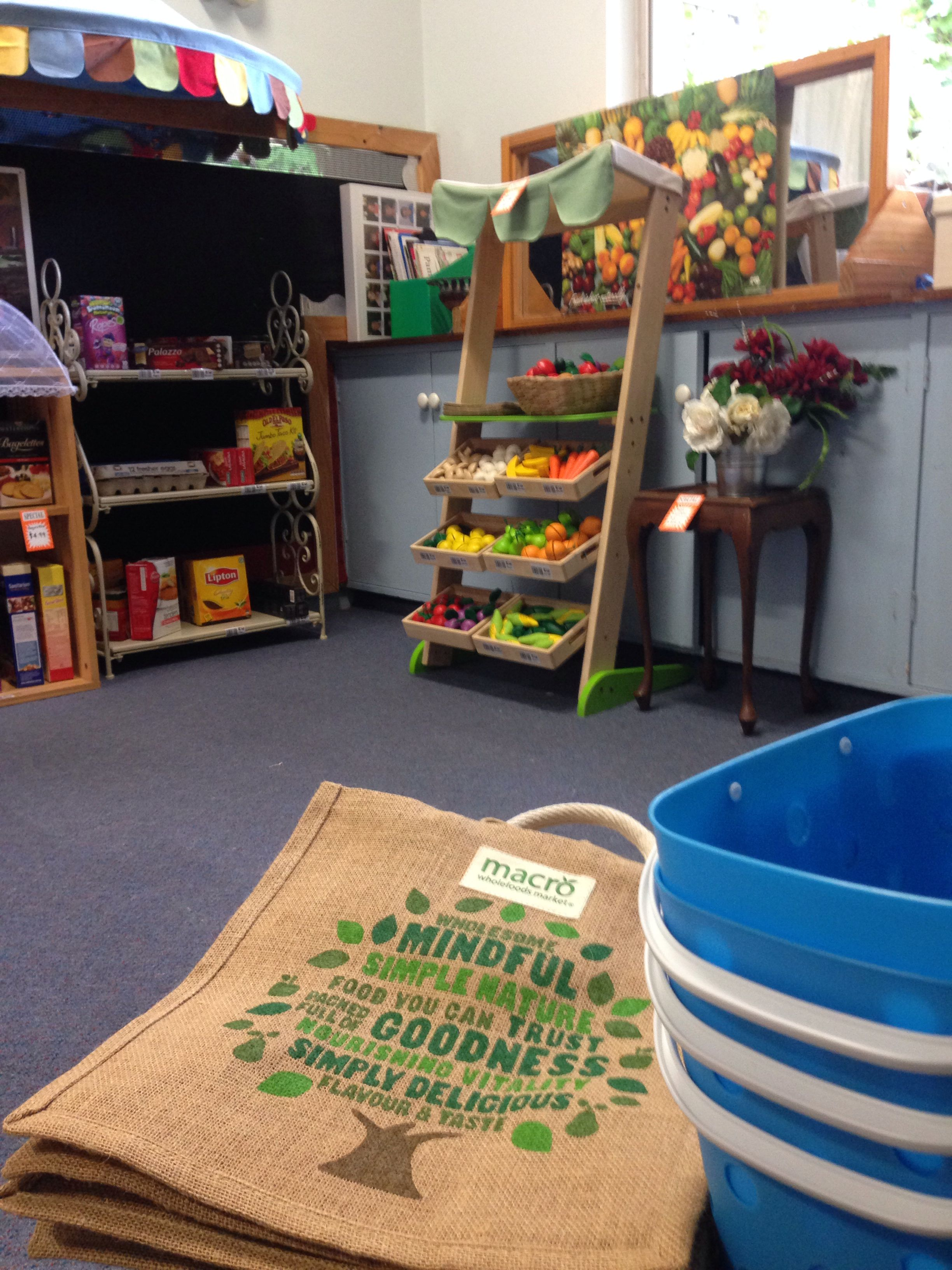Our preschool has a supermarket! My group have loved this dramatic play experience.