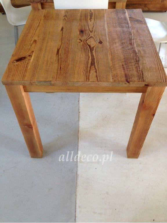 stolik kawowy ze starego drewna / table basse en vieux bois | Stoły ...