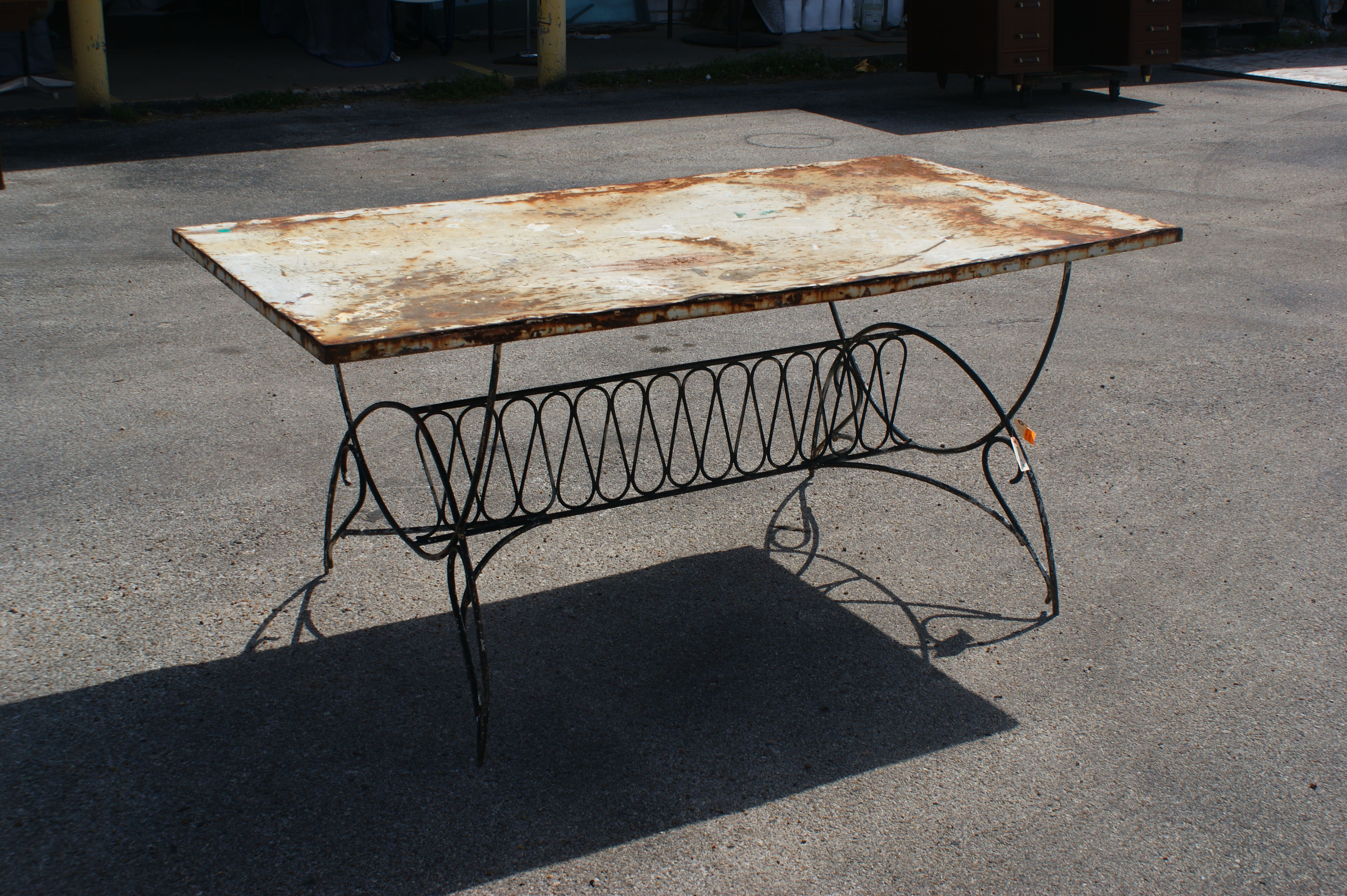 virgin patio tables of m no photos furniture pinterest june i a how improvement refinish best longer old home lovely to metal pictures