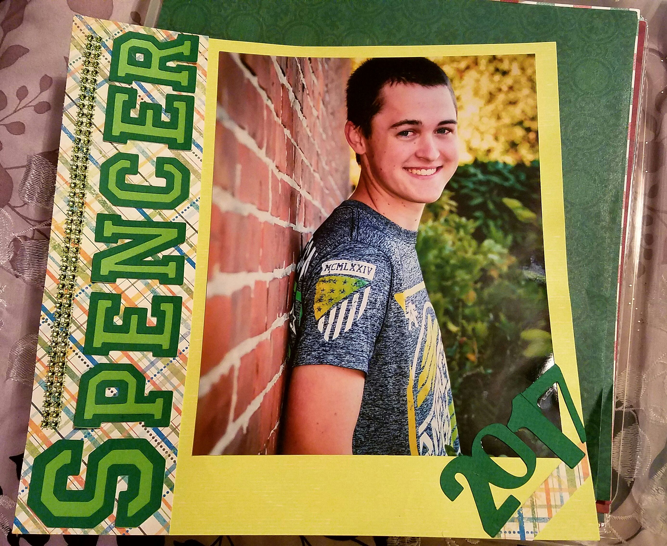 Spencer - Scrapbook.com
