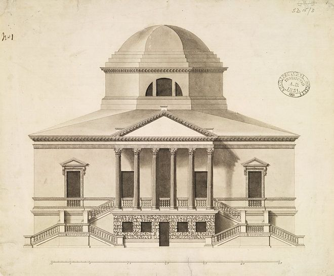 Chiswick House by Lord Burlington, 1729 (c) RIBA Collections.jpg