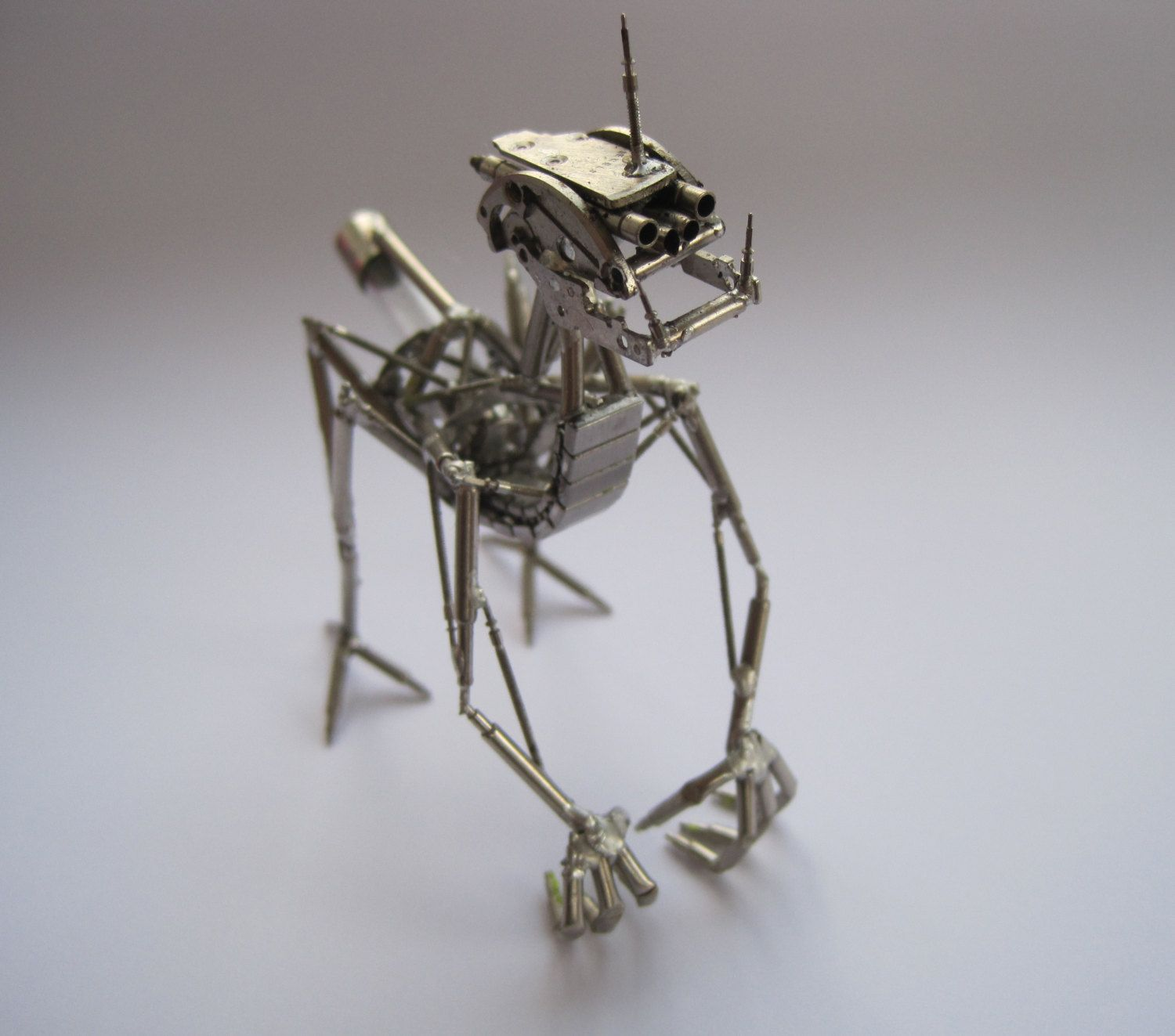"""Mechanical Animal """"Chomper"""" Recycled Watch Parts Creature ..."""