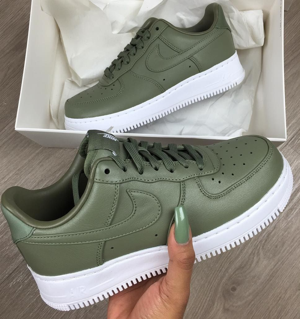 new style 3ce8e 509d7 Nike Air Force 1 Green