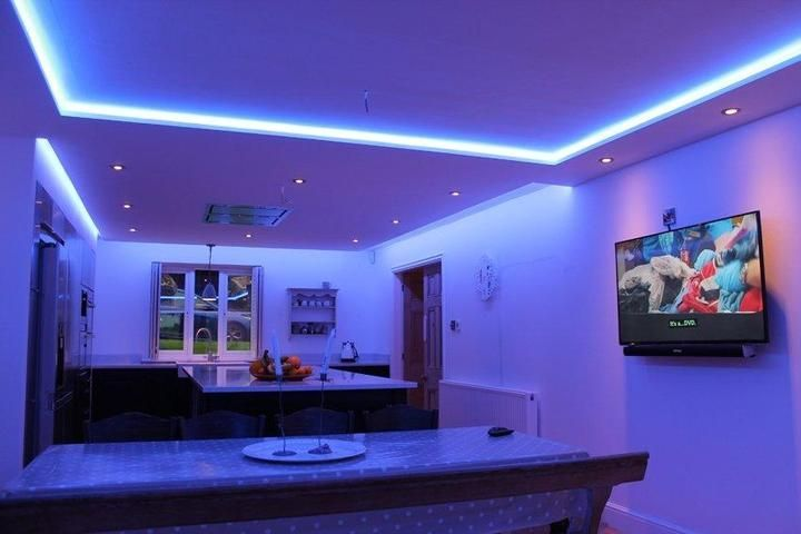 Music Sync Smart Rgb Led Strip Light In 2020 Led Lighting Bedroom Strip Lighting Led Room Lighting