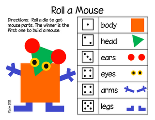 Cute game for math and shapes.