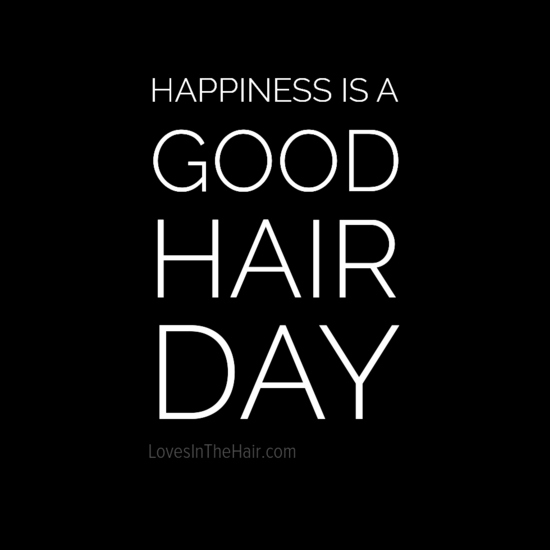 Happiness Is A Good Hair Day Hair Beauty Quote Hair Salon Quotes Hair Quotes Hair Humor