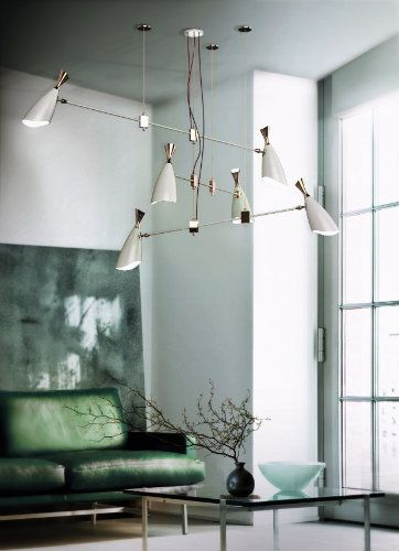 INSPIRING SUSPENSION LAMPS FOR YOUR LIVING ROOM_See more inspiring articles at: www.delightfull.eu/en/inspirations/