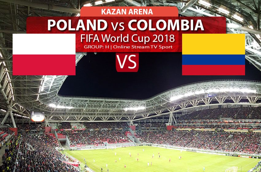 Watch Poland vs Colombia online streaming in HD, FIFA