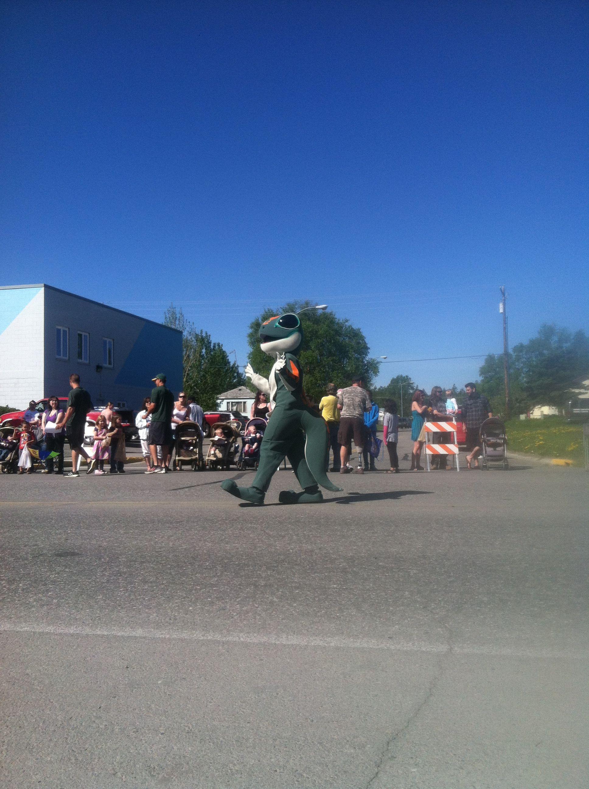 Colony days parade in Palmer Alaska:)