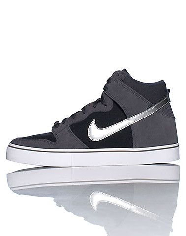 0929afce967d3 NIKE High top men s sneaker Suede material Signature leather NIKE swoosh on  sides of shoe Padded tongue with logo Cushioned inner sole for comfort