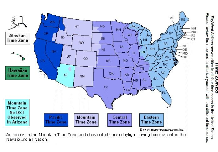 US Time Zones | Time zone map, Time zones, Global map