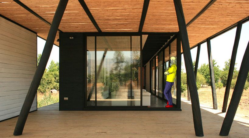 Biehl House in Chile - A basic program low cost house.  http://mhllt.com/biehl-house/ #JorgeGarcía #DanielRojo #Colina #Santiago #Chile #Home #House #Residence #Architecture #Design #Interior #Exterior #Furniture #mhllt #FurnitureBali #FurnitureIndonesia #FurnitureManufactureBali #FurnitureManufactureIndonesia #HighQualityFurnitureBali #HighQualityFurnitureIndonesia #BaliFurniture #IndonesiaFurniture