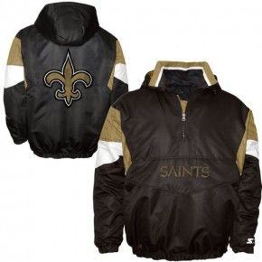 2dc5b0cc Saints Starter Jacket | Saints Throwback | Jackets, New orleans ...